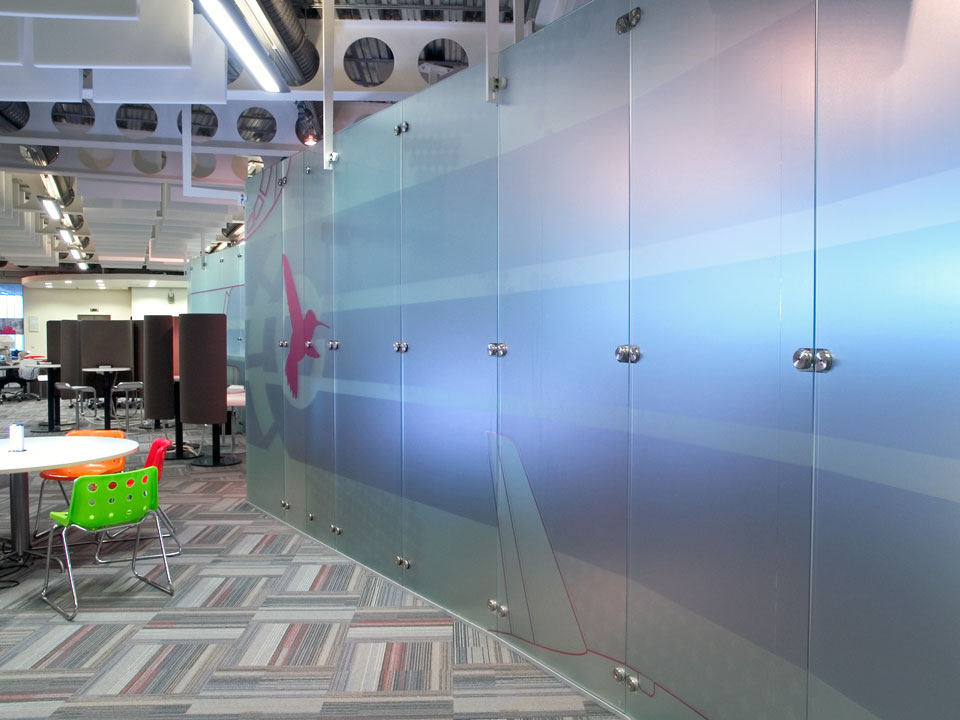 . Elite Free Standing Glass Wall Dividers