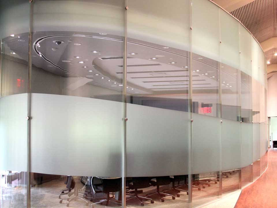 Glass Office Walls