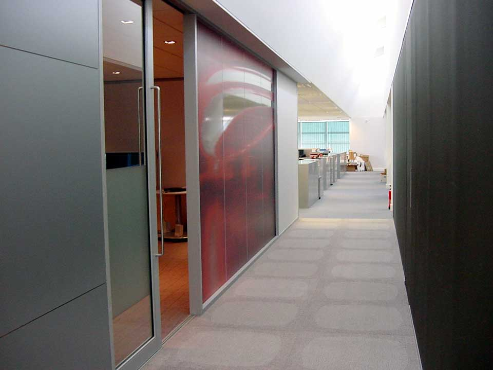 Commercial office doors and glass office walls avanti for Glass wall door systems