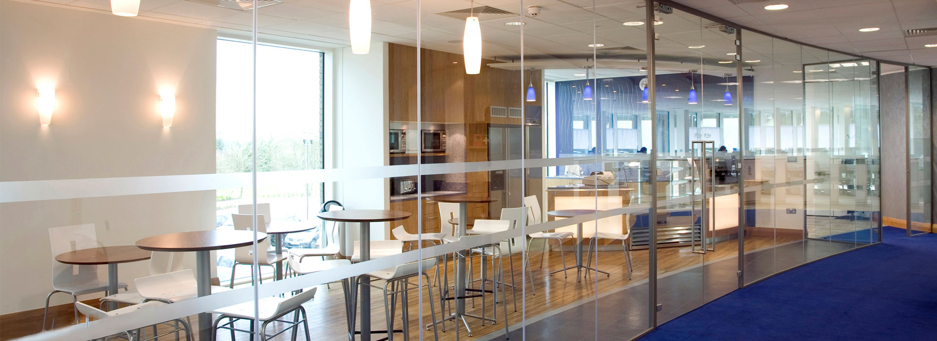 Glass Walls and Doors for Commercial Interiors and Office Dividers