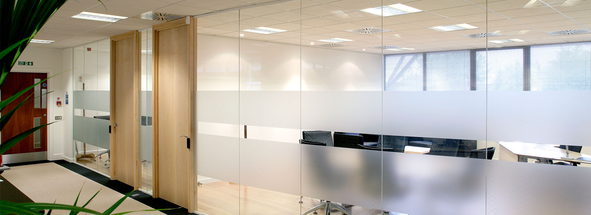 glass walls and doors for commercial interiors and office dividers - Interior Glass Walls For Homes