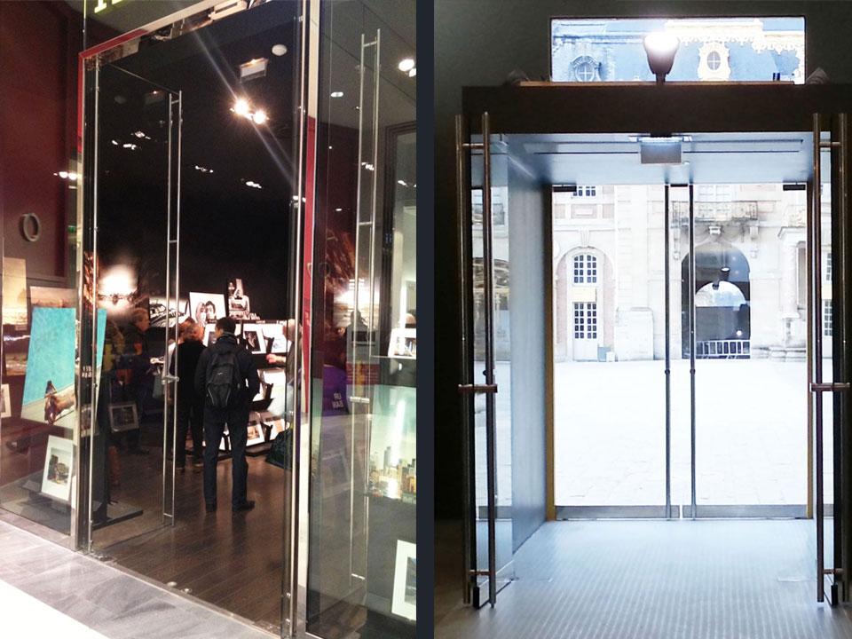Fantastic Glass Office Doors Partition Walls Largest Home Design Picture Inspirations Pitcheantrous
