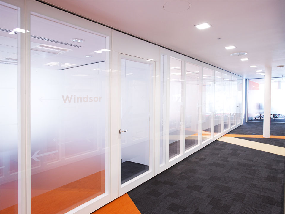 Double Glazed Walls : Movable partitions for double glazed glass walls avanti
