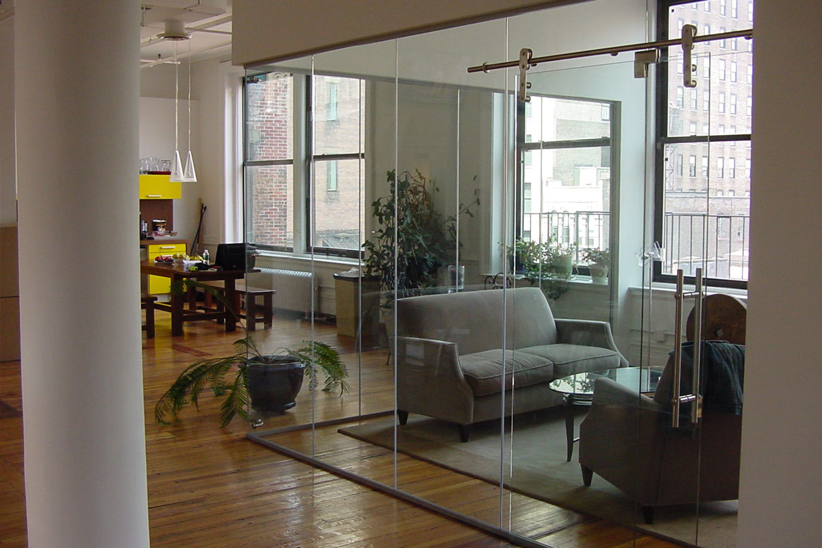 Single Glazed Frameless Glass Partitions Amp Walls Avanti