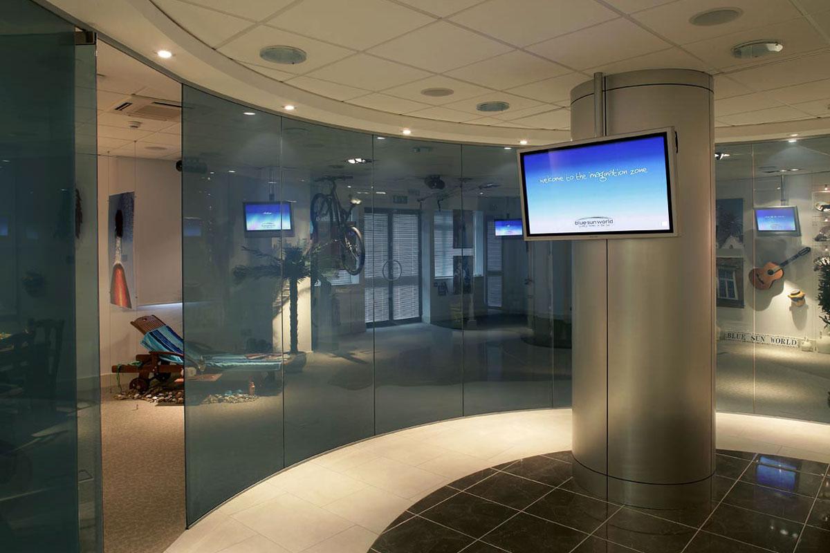 Single Glazed Glass Amp Herculite Doors Avanti Systems Usa