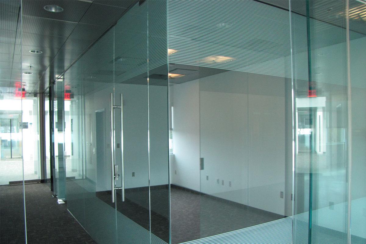 single glazed glass  u0026 herculite doors